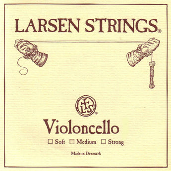 Larsen Cello Set 3/4 - 1/4 Size