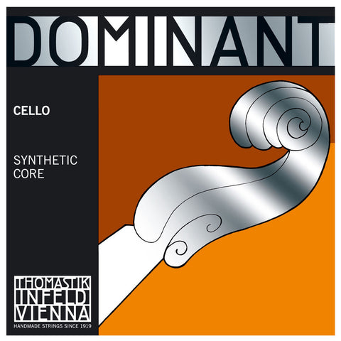 Thomastik Dominant Cello Set 3/4 - 1/8 Size