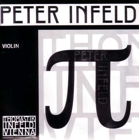Thomastik Peter Infeld Violin Set with Tin E & Aluminium D