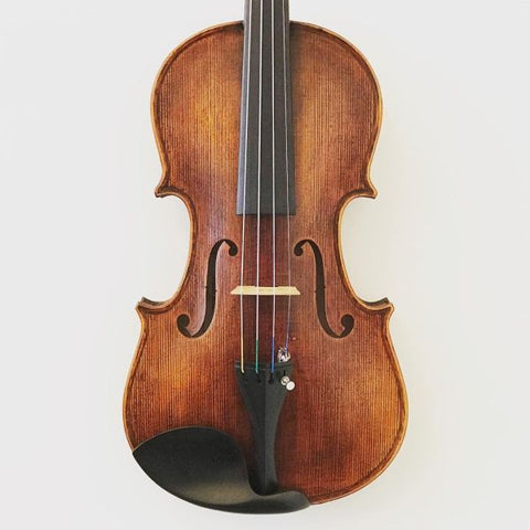 Handmade Chinese violin labelled 'The Amati'