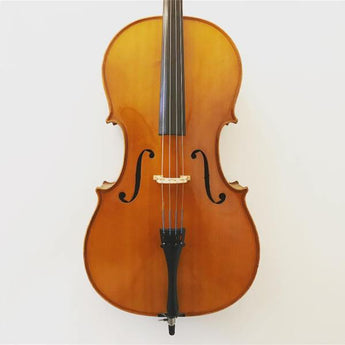 3/4 size German cello labelled Karl Hofner, dated 1988