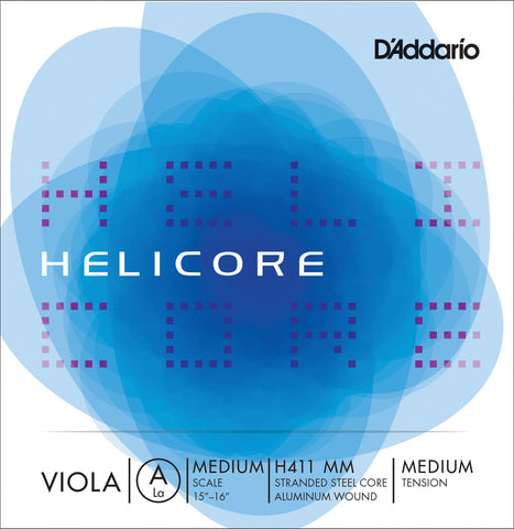 D'Addario Helicore Viola A - All Lengths & Gauges