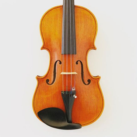 Handmade Chinese violin labelled 'The Messina'