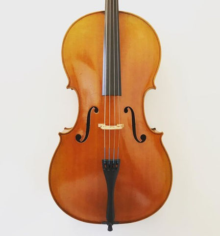 Master Belgian cello labelled 'Pierre Marcel'