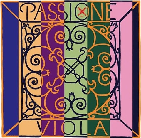 Pirastro Passione Viola Set with Steel A