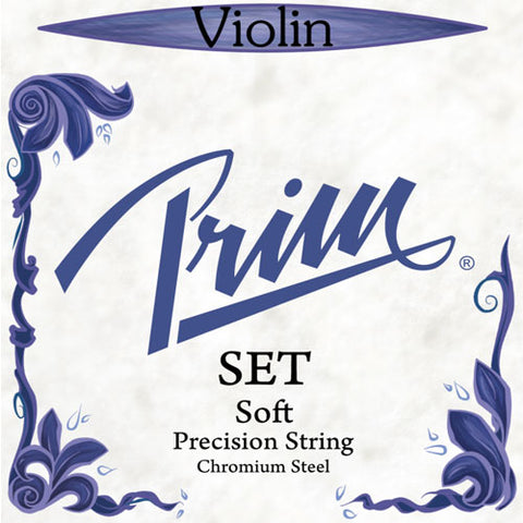 Prim Precision Steel Violin Set