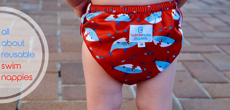 Droplets: Our New Reusable Swim Nappies