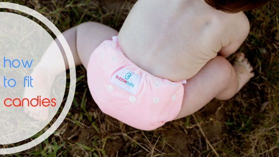 Video How To: Fitting Candies All In Two Cloth Nappies