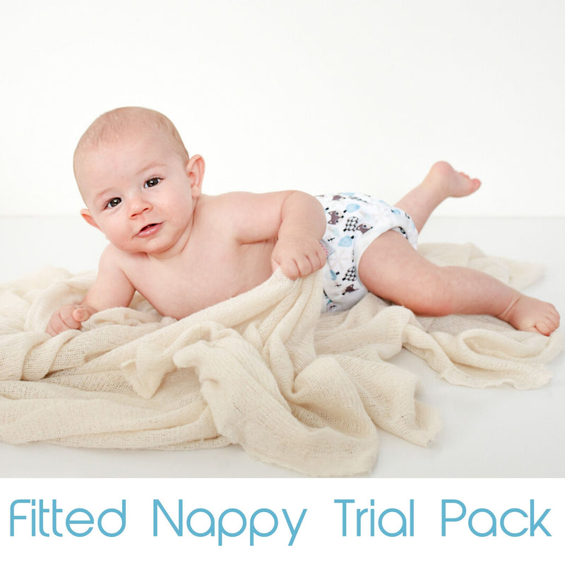 Fitted Nappy Trial Pack