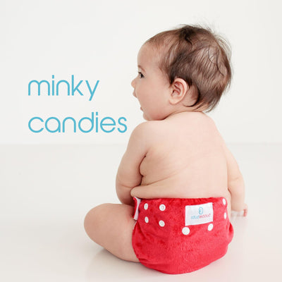 PREORDER due approx early Feb - MINKY All in Two Candie