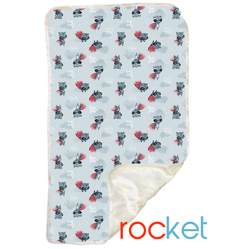 Rocket Minky Changemat