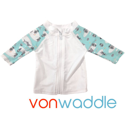 Von Waddle Rash Vest with Bonus Mini Wetbag