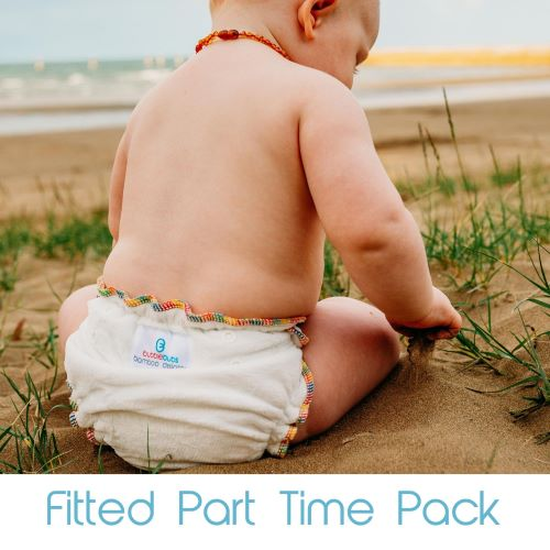 Fitted Nappy Part Time Pack