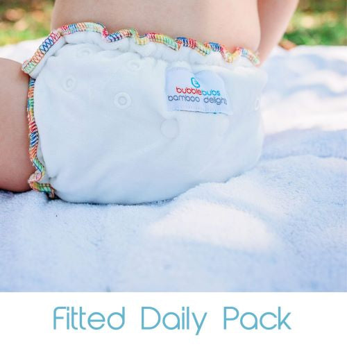 Fitted Nappy Daily Pack