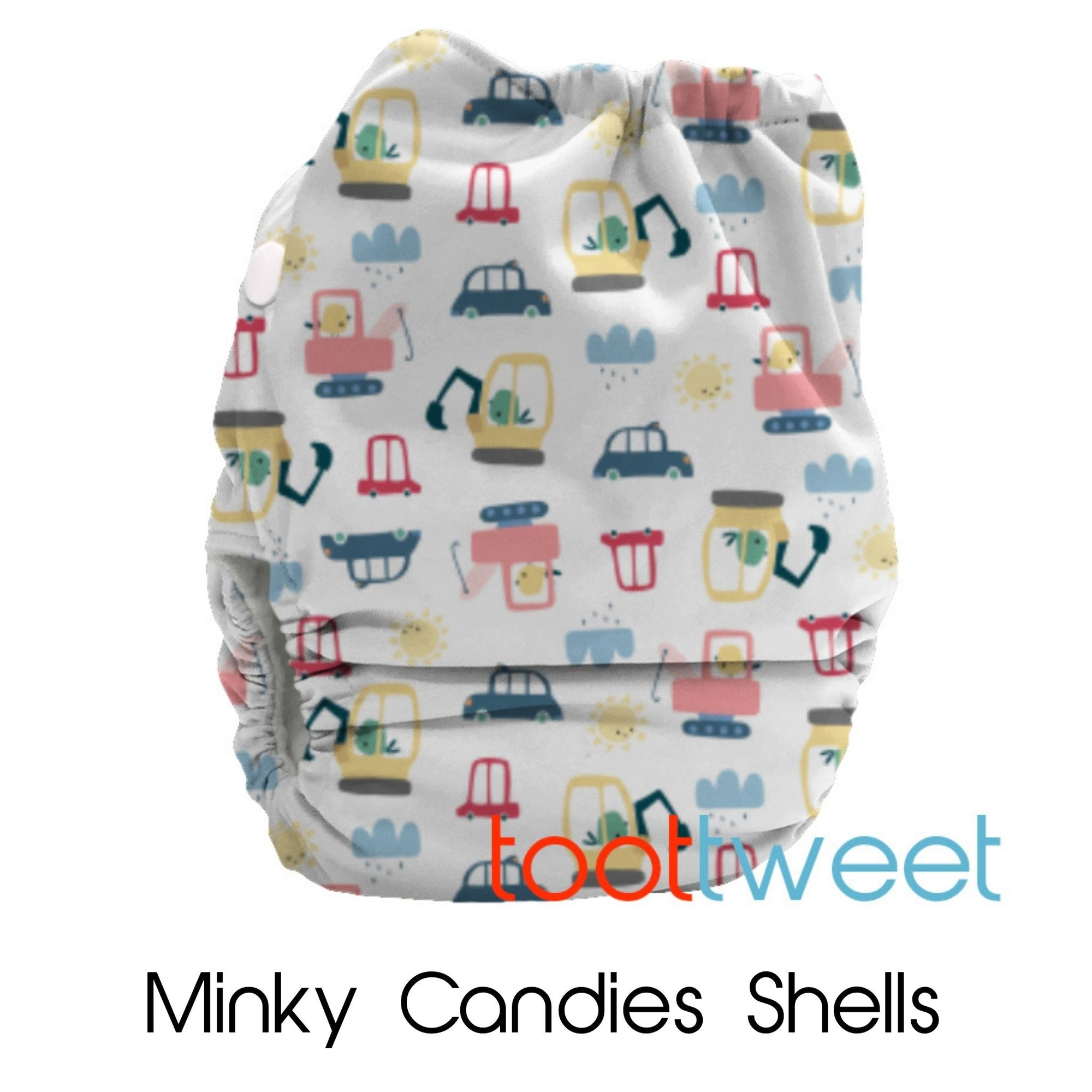PREORDER (due approx 9 Nov) - Limited Edition Minky Candies Shell Only