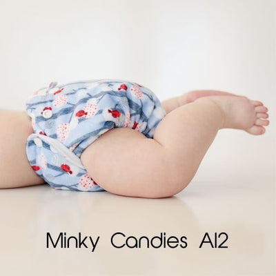 PREORDER (due approx 9 Nov) - Limited Edition Minky All In Two Candies