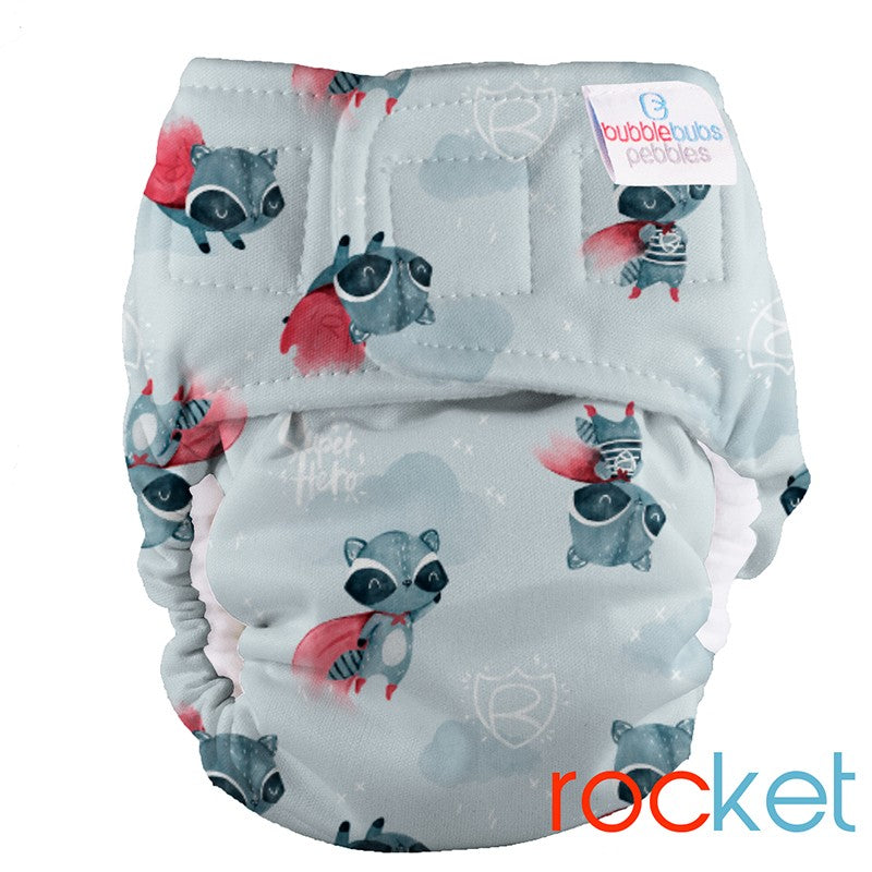 Minky Pebbles Newborn All In One - Rocket