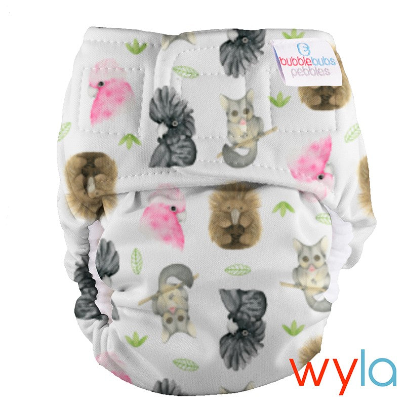 PUL Pebbles Newborn All In One - Wyla