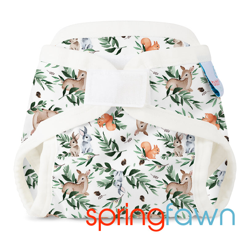PUL Gusseted Cover Spring Fawn