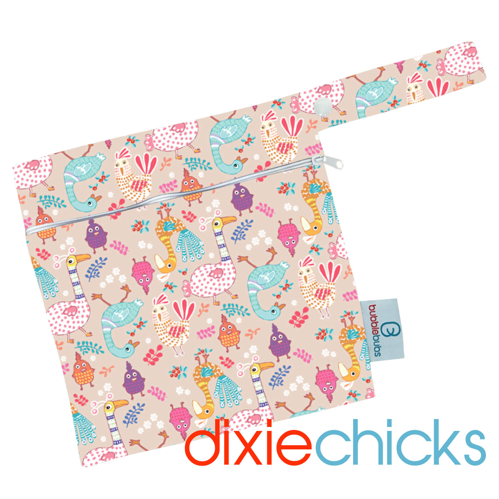 Dixie Chicks PUL Mini Wetbag