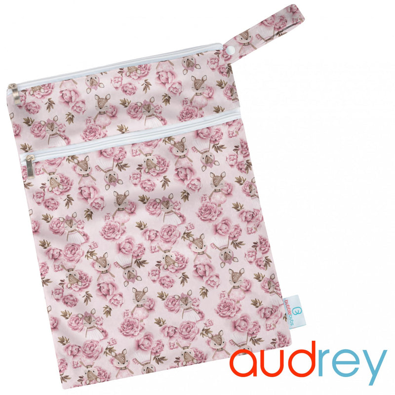 Audrey Minky Double Pocket Wetbag