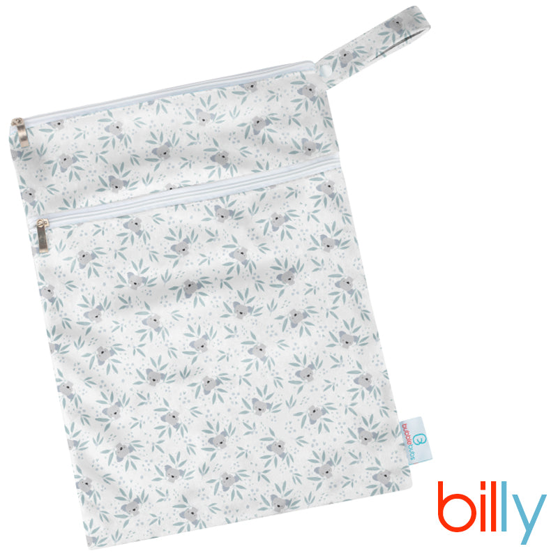 Billy Minky Double Pocket Wetbag