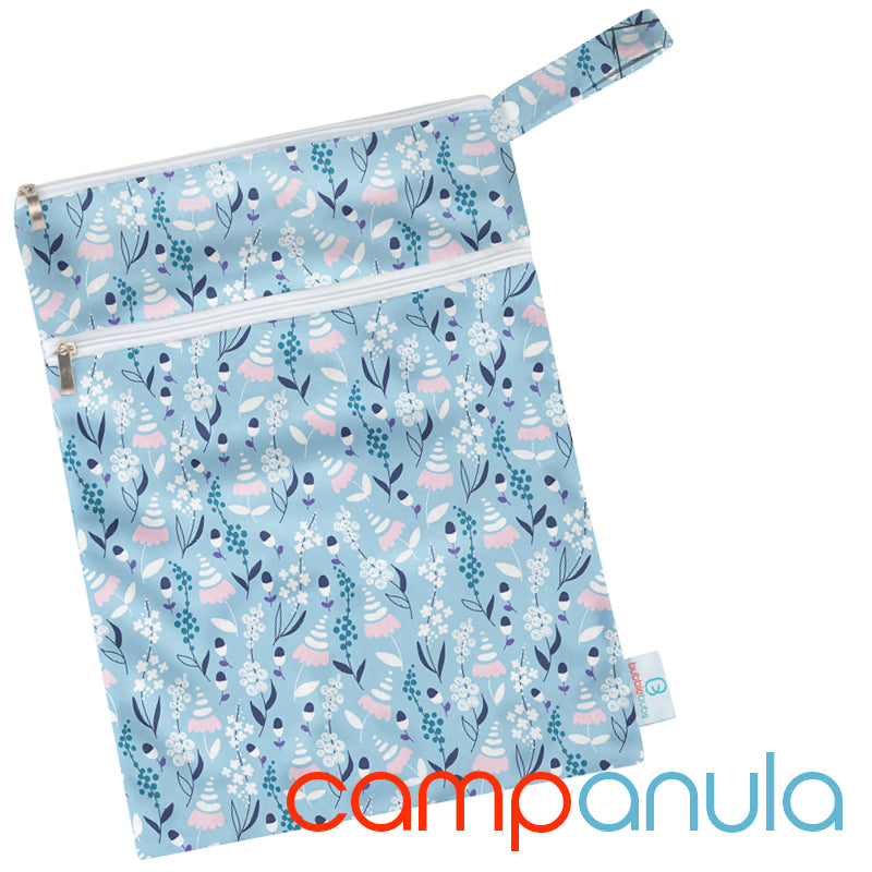Campanula Minky Double Pocket Wetbag