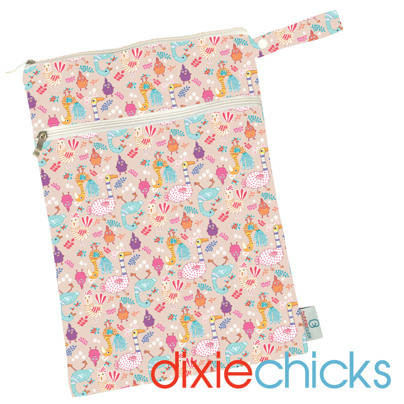 Dixie Chicks PUL Double Pocket Wetbag