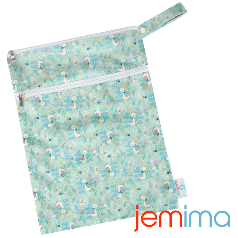 Jemima PUL Double Pocket Wetbag