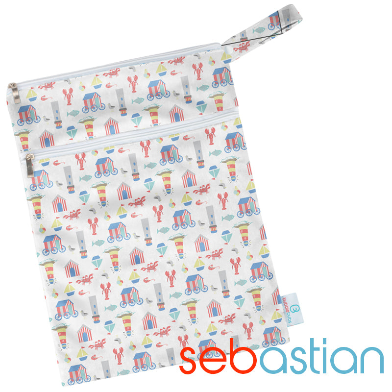 Sebastian PUL Double Pocket Wetbag