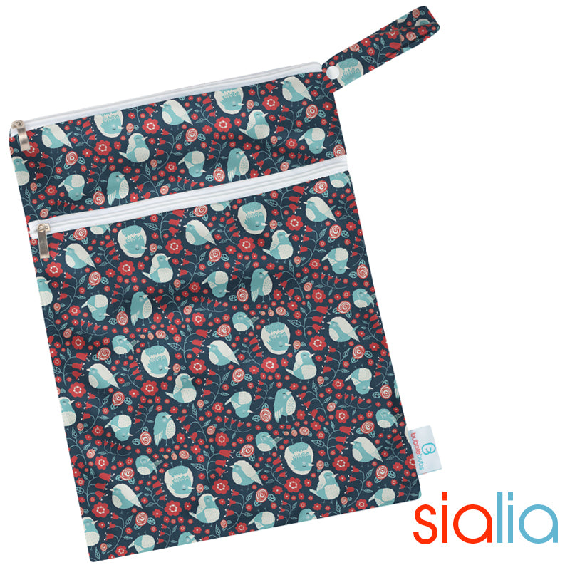 Sialia Minky Double Pocket Wetbag