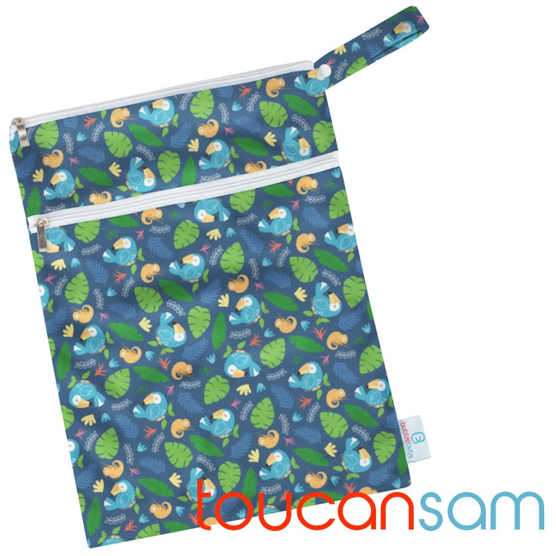 Toucan Sam PUL Double Pocket Wetbag