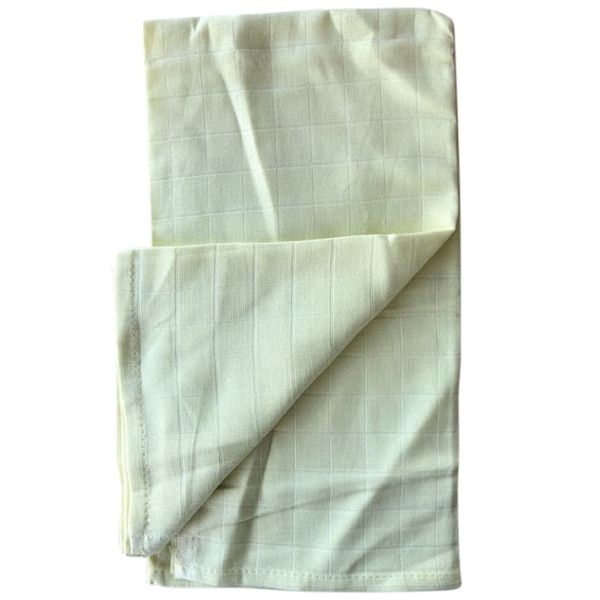 Organic Cotton Muslin Flat - Lemon