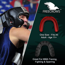 Load image into Gallery viewer, FreeCrows MMA Hand Wraps & MMA Mouthguard Boxing Equipment