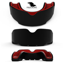 Load image into Gallery viewer, MMA Mouthguard - (pack of 2) Teeth Protection All Contact Sports Red/Blue by Freecrows