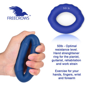 Big Toe Separators - Hand Grip Strengthener Workout - Spiky Massage Ball Set by Freecrows