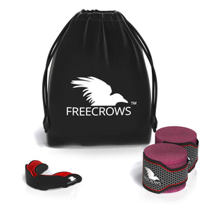 FreeCrows MMA Hand Wraps & MMA Mouthguard Boxing Equipment