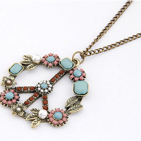 Bohemian Fashion Women Retro Pearl