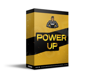 Need Instant Inspiration? Power Up is Packed With The Hottest Rap and Trap Melodies, Chords, and Loops To Keep You Motivated