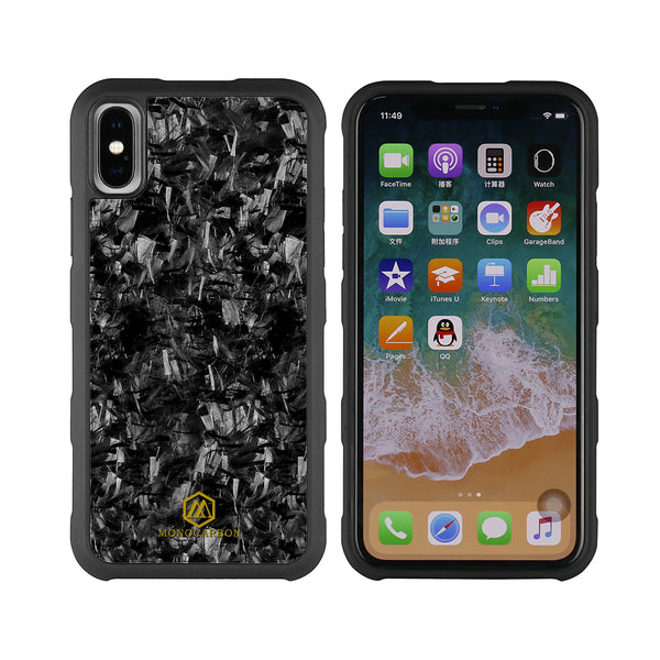Shockproof | Forged Carbon Fiber Case for iPhone X/XS/XR/XS Max