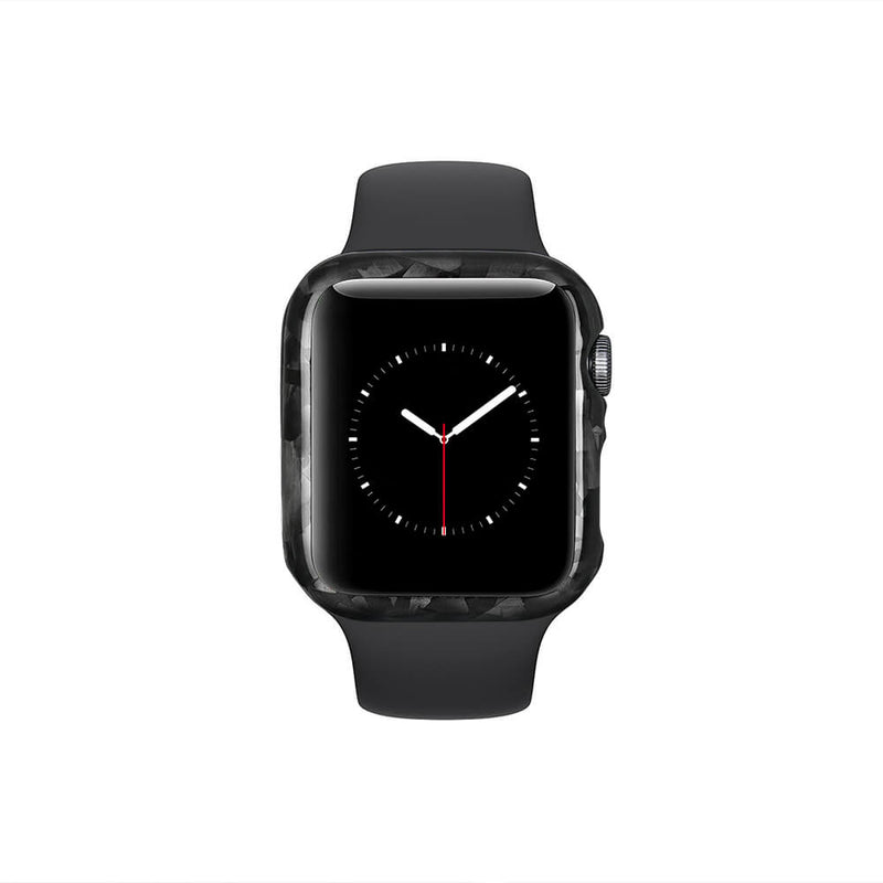 Forged Carbon Fiber Case for Apple Watch 44mm Series 6/5/4/SE | Glossy Finish