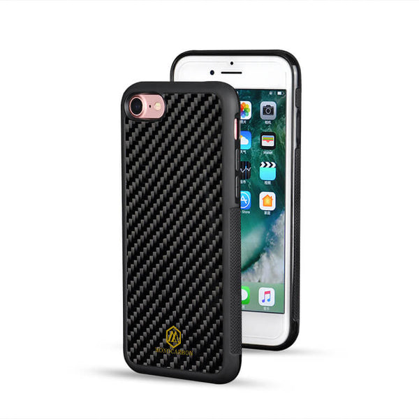Non Slip | Carbon Fiber Case for iPhone SE II (2020 Version)