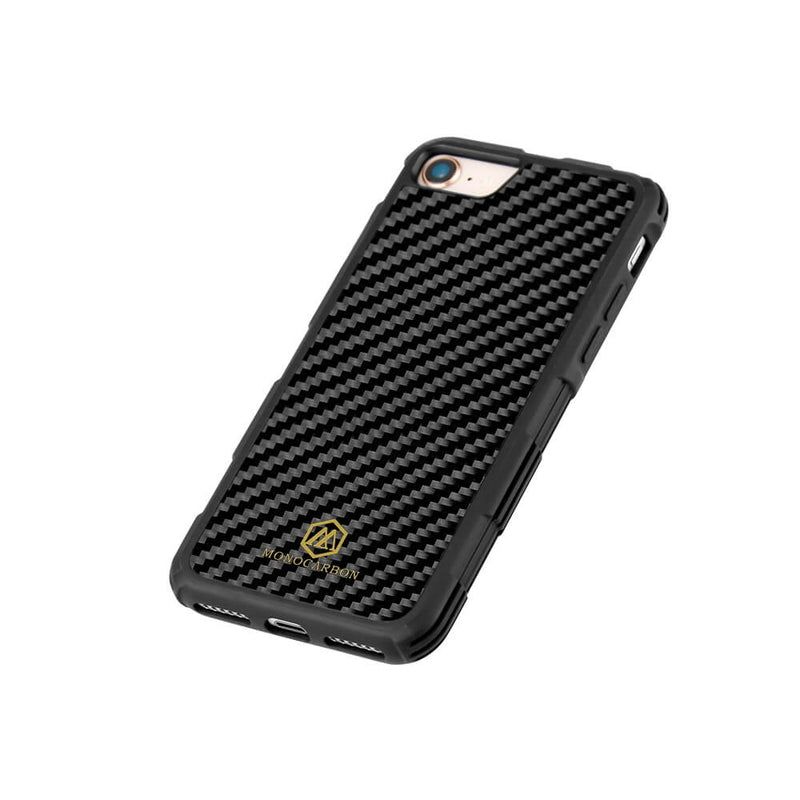 Shockproof | Carbon Fiber Case for iPhone SE II (2020 Version)