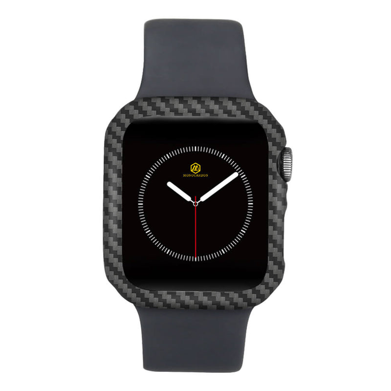 Carbon Fiber Case for Apple Watch 40mm Series 6&5&4&SE | Glossy/Matte Finish