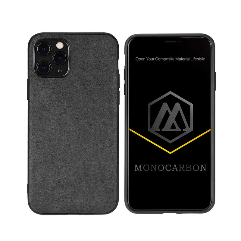 Slim Alcantara Case for iPhone 11/11 Pro/11 Pro Max