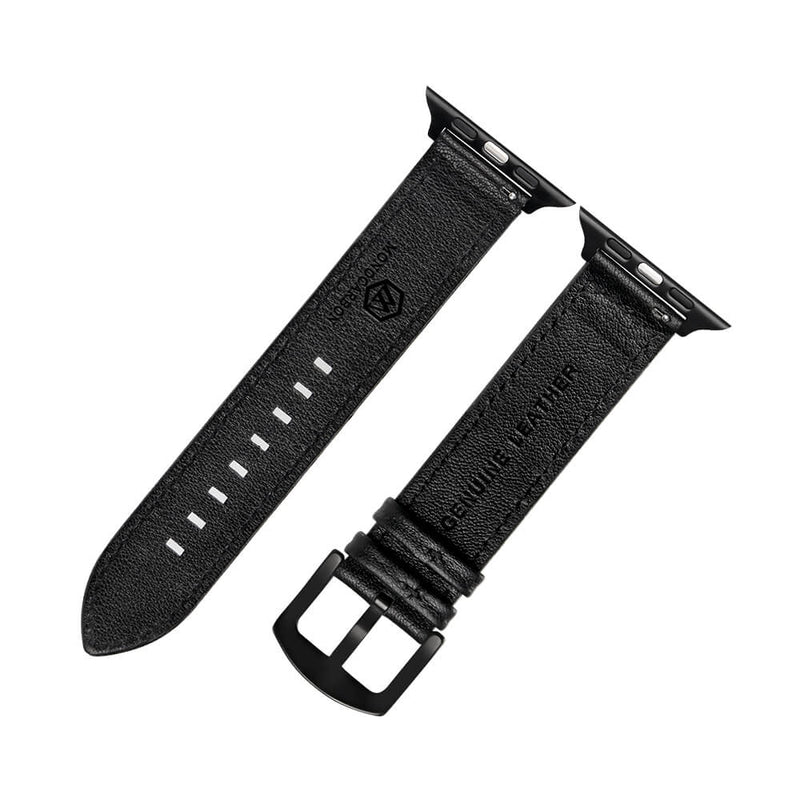 Carbon Fiber Apple Watch Bands | 44mm Series 6&5&4&SE, 42mm Series 1&2&3 | Matte Black