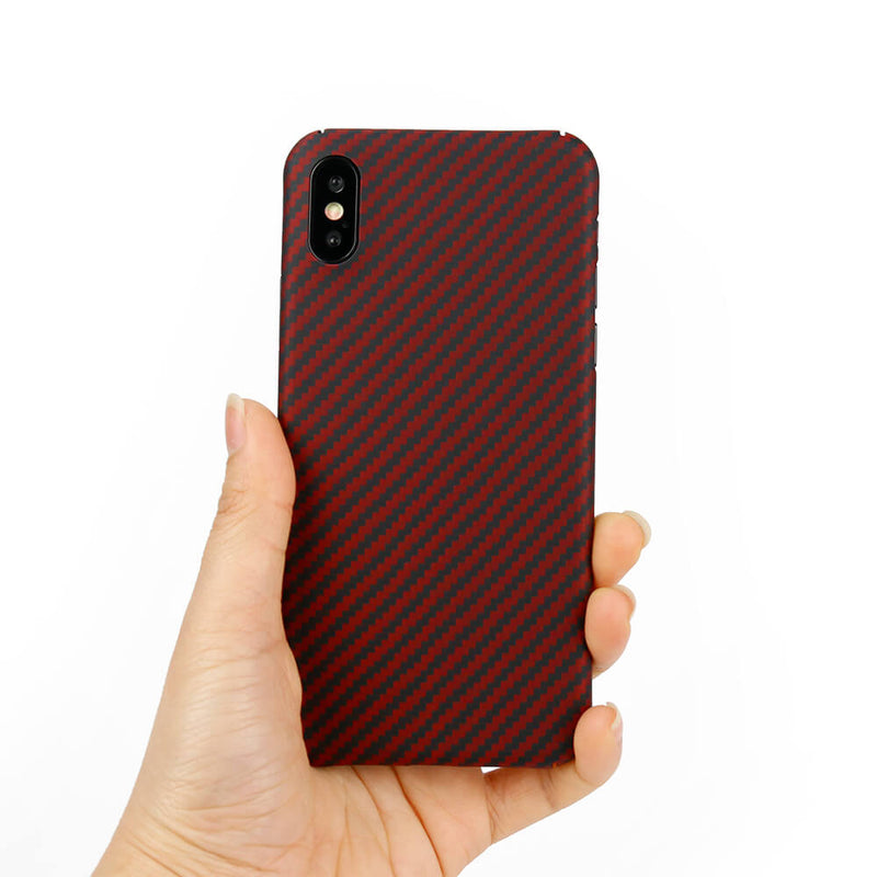 Slim Aramid Fiber Case for iPhone X/XS/XR/XS Max