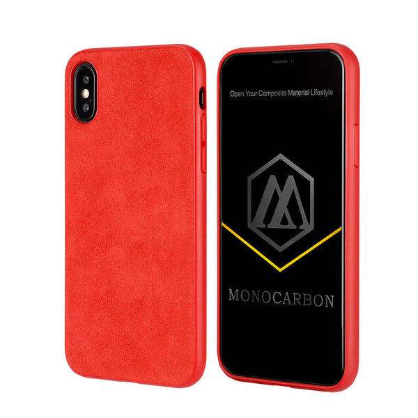 Slim Alcantara Case for iPhone X/XS/XR/XS Max