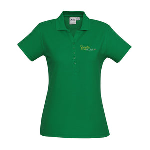 Ladies Brighter Access Polo (Green)