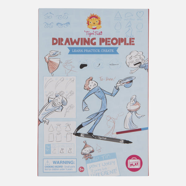 Drawing People - Learn. Practice. Create